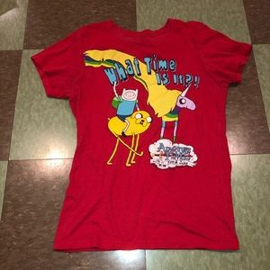 Mighty fine adventure time md T-shirt graphic